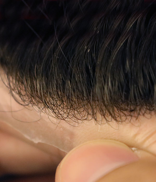 poly hair system