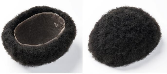 black men's toupee