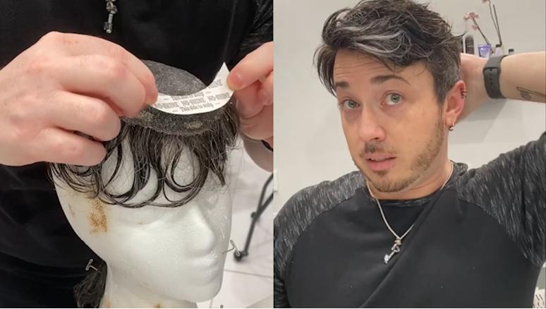 hair system glue