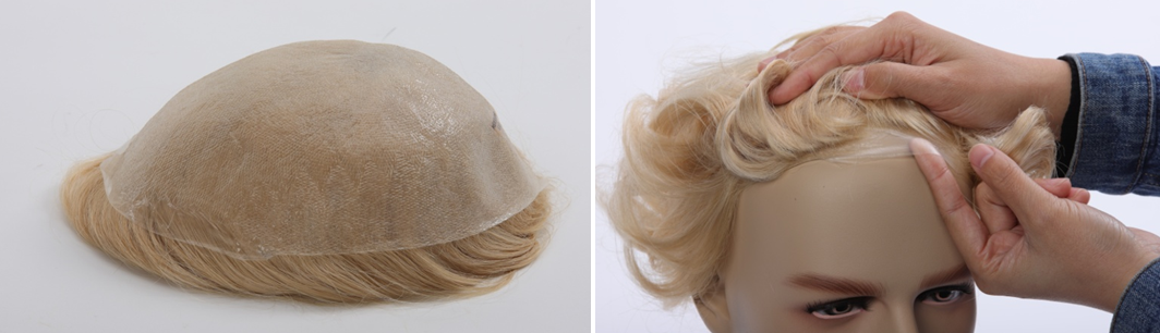 skin base toupee