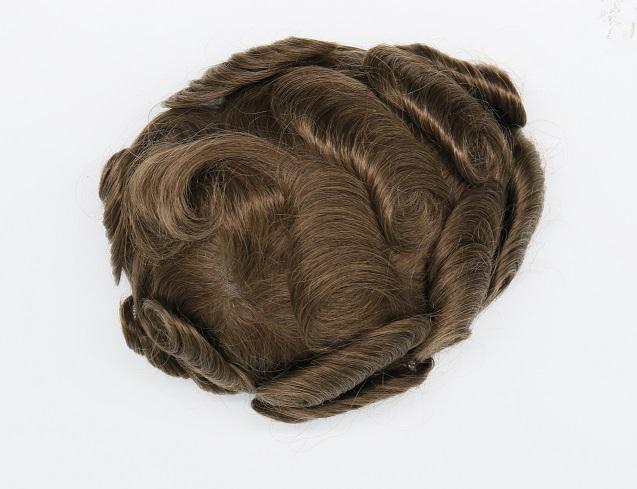 brown toupee