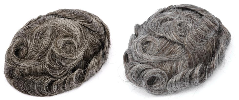 grey hair toupee