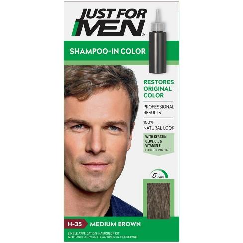 Colores de tinte para el cabello para hombres