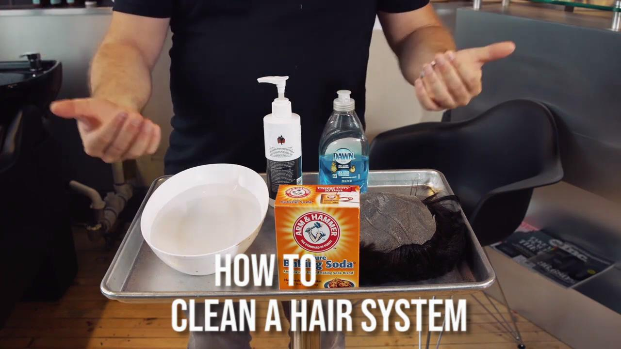 wash hair system