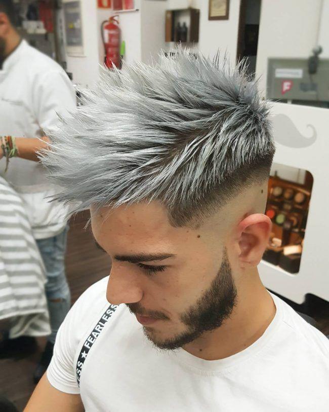 silver hair wig